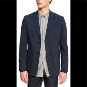 Men's Long Sleeve Blazer Phillip Lim Medium Navy